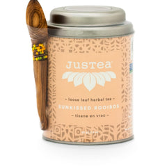 Justea Sunkissed Rooibos Loose Leaf Herbal Tea 70g