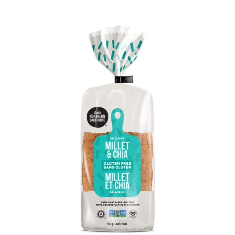 Little Northern Bakehouse Gluten Free Millet & Chia Loaf 454g