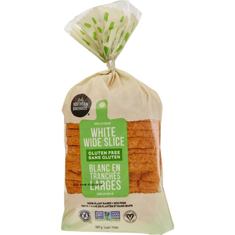 Little Northern Bakehouse Gluten Free White Wide Sliced Loaf 567g
