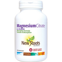 New Roots Magnesium Citrate 90caps