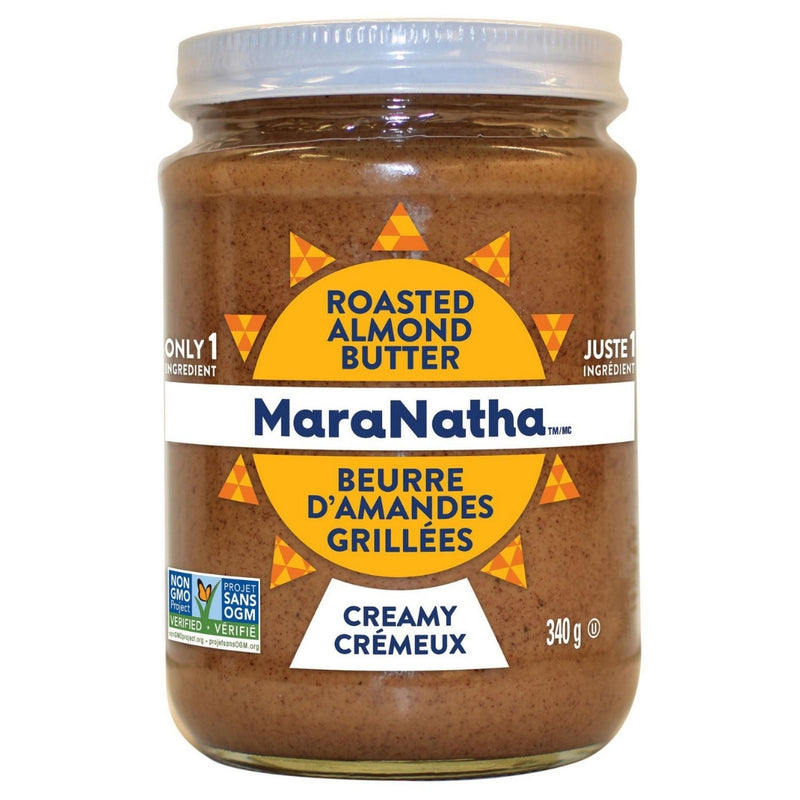 Maranatha Roasted Creamy Almond Butter 340g