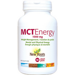 New Roots Mct Energy 1000mg 90 Sgels