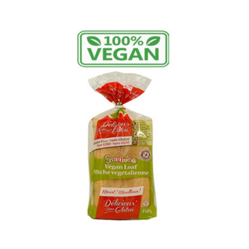 Delicious Without Gluten Vegan Loaf 450g