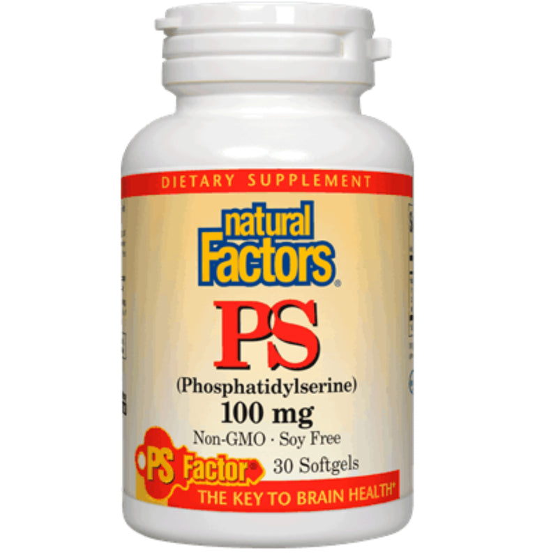 Natural Factors Phosphatidylserine 100mg 30sgels