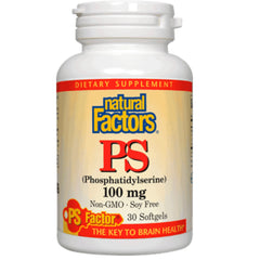 Natural Factors Phosphatidylsérine 100mg 30gels