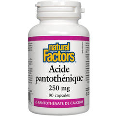 Natural Factors Pantothenic Acid 250mg 90c