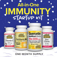 Natural Factors All-In-One Immunity Startup Kit One Month Supply