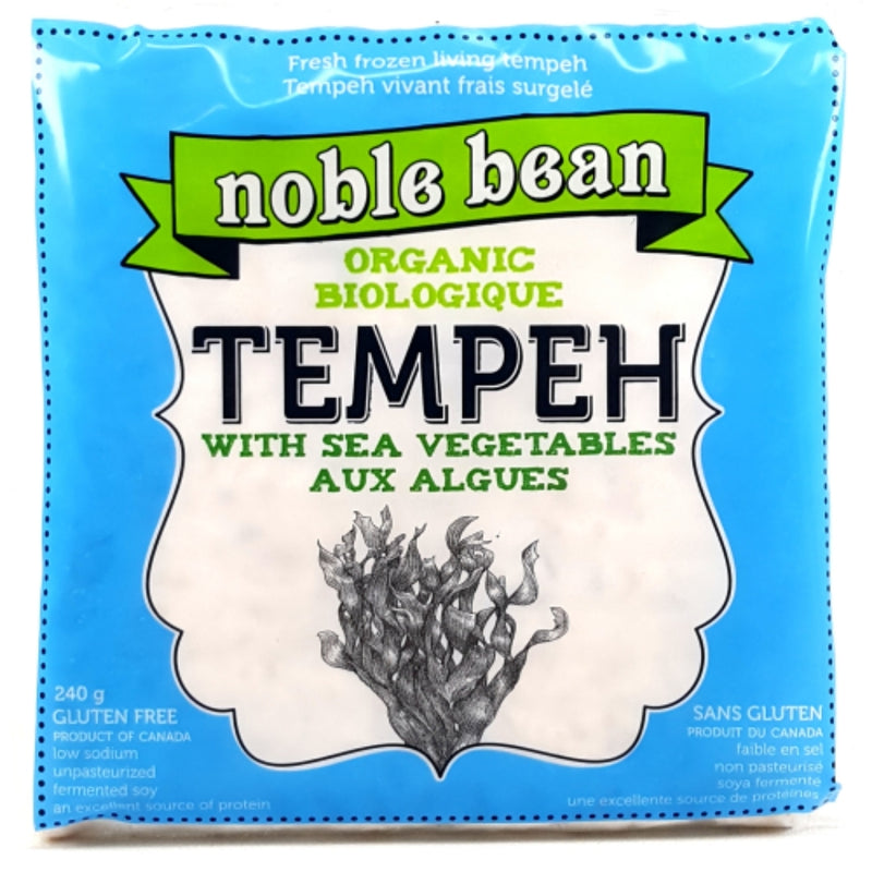 Noble Bean Organic Tempeh With Sea Vegetables 240g