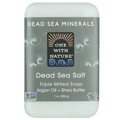 One With Nature Dead Sea Salt Mineral Soap 200g