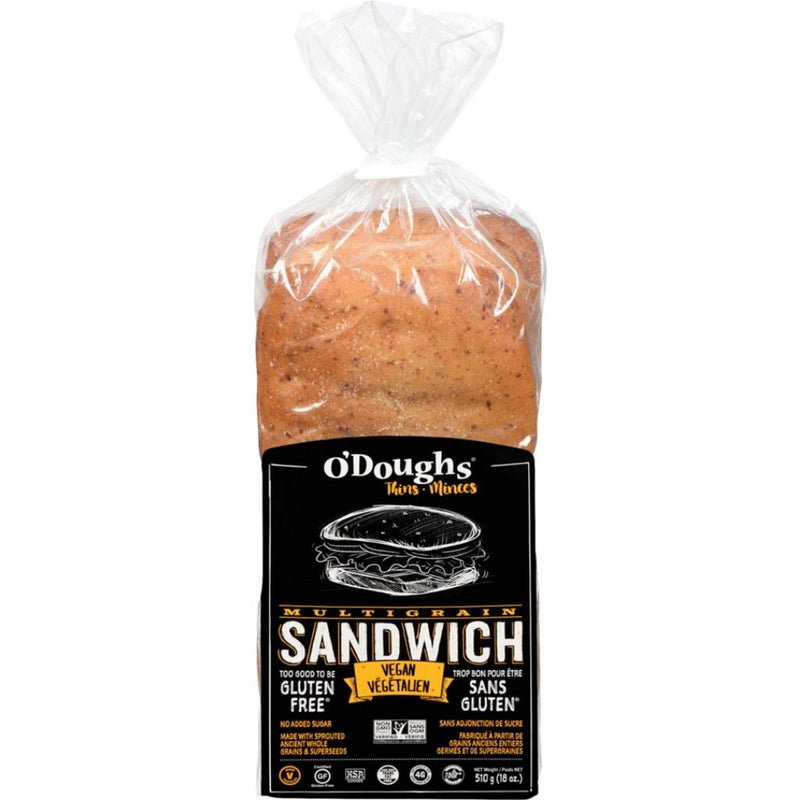 O'Doughs Vegan Multi Grain Sandwich 510g