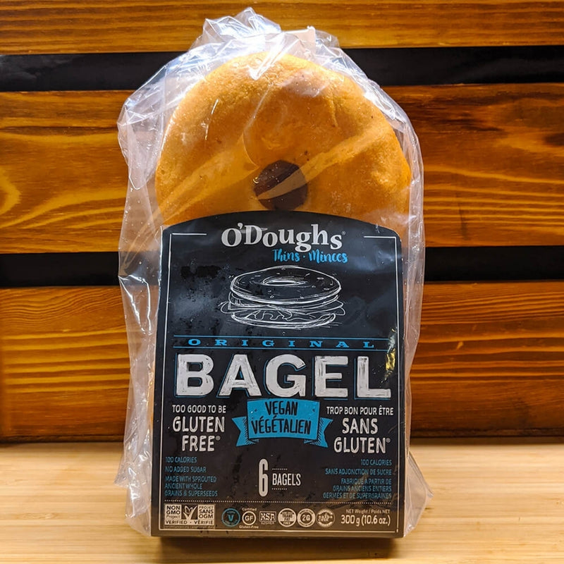 O'Doughs Vegan Original Bagel 300g
