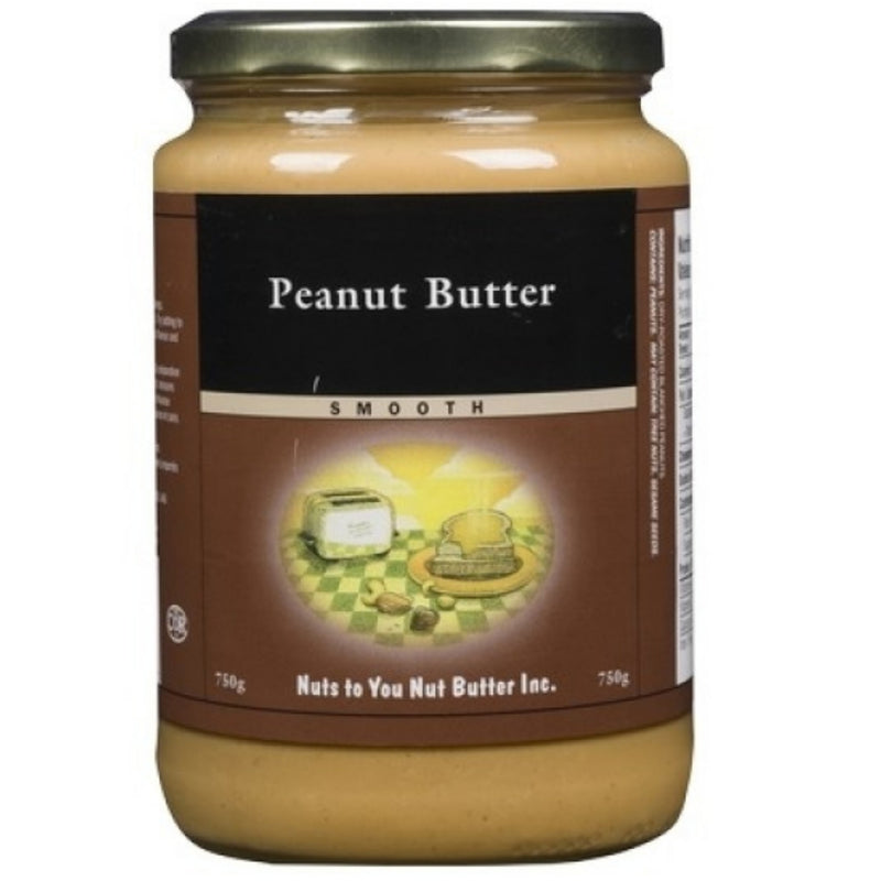 Nuts to You Peanut Butter Smooth 750g