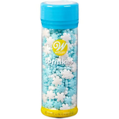 Wilton Holiday Pearlized Snowflake Sprinkles 113g