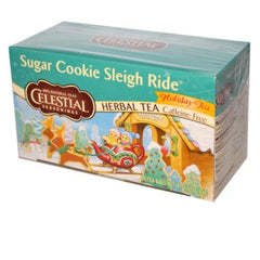 Celestial Seasonings Sugar Cookie Sleigh Ride 20 Tea Bags