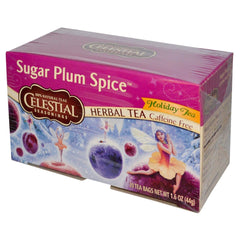 Celestial Seasonings Sugar Plum Spice 20 sachets de thé