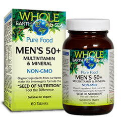 Natural Factors WES Men's 50+ Multivitamin 60t