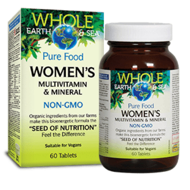 Natural Factors WES Women`s Multivitamin 60t