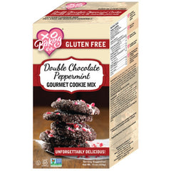 XO Baking Co. Gluten Free Double Chocolate Peppermint Gourmet Cookie Mix 425g