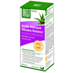 Bell Acidic Stomach Alkaline Balance 60 Vcaps