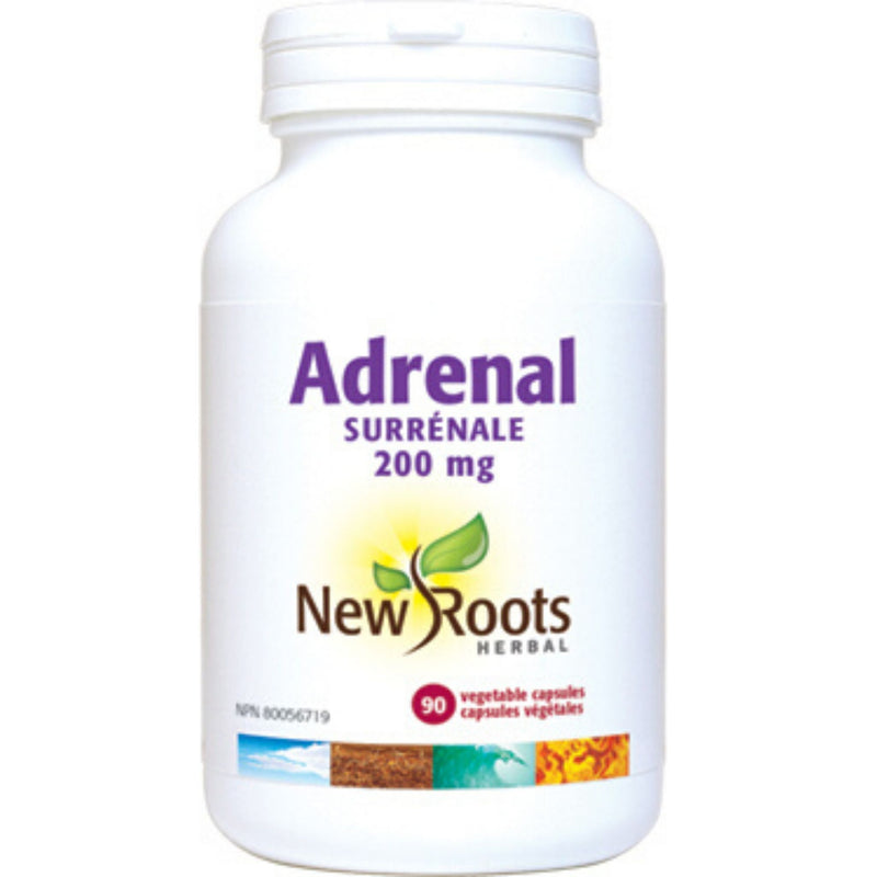 New Roots Adrenal 200mg 90vcaps