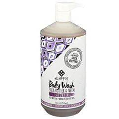 Alaffia Shea Butter & Neem Body Wash Lavender 950ml