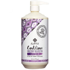 Alaffia Unrefined Shea Butter Lavender Conditioner 950ml