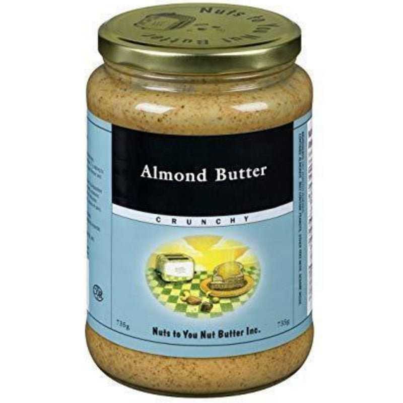 Nuts to You Almond Butter Crunchy 735g