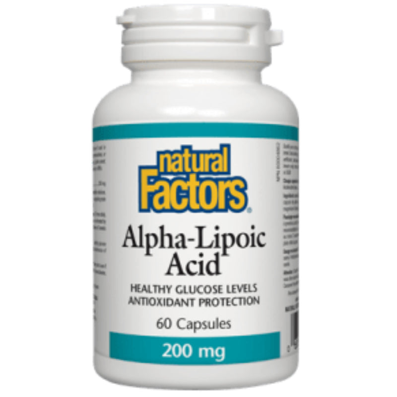 Natural Factors Aplha-Lipoic Acid 200mg 60caps