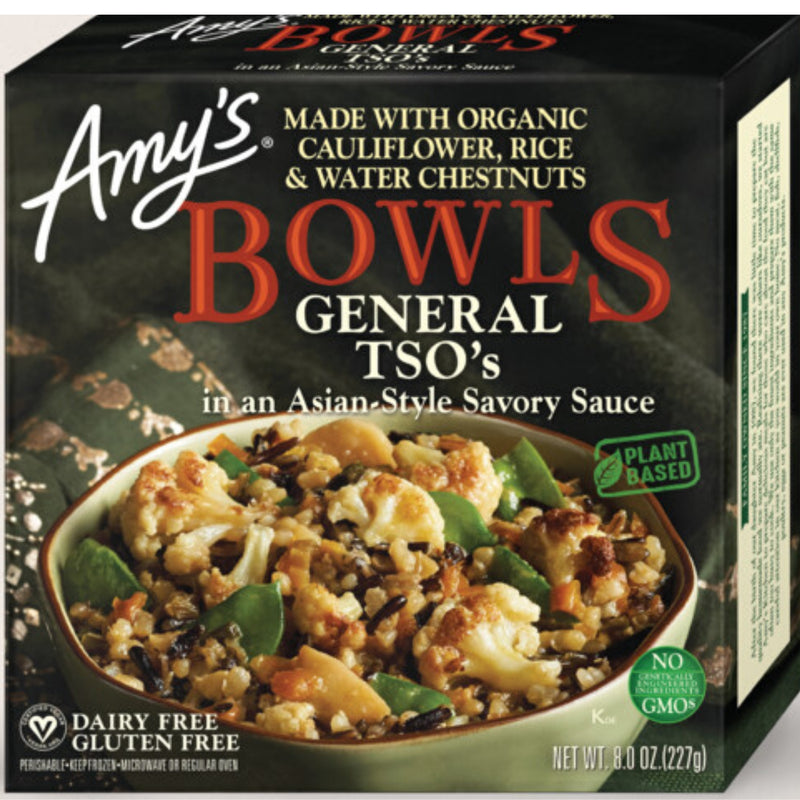Amy's General TSO's Bowl 227g (frozen)