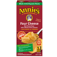 Annie's Penne Four Cheese Mac & Cheese 156g