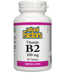 Natural Factors Vitamin B2 100mg 90t