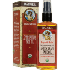 Badger Cooling Bergamot Organic Moisturizing After Shave 118ml