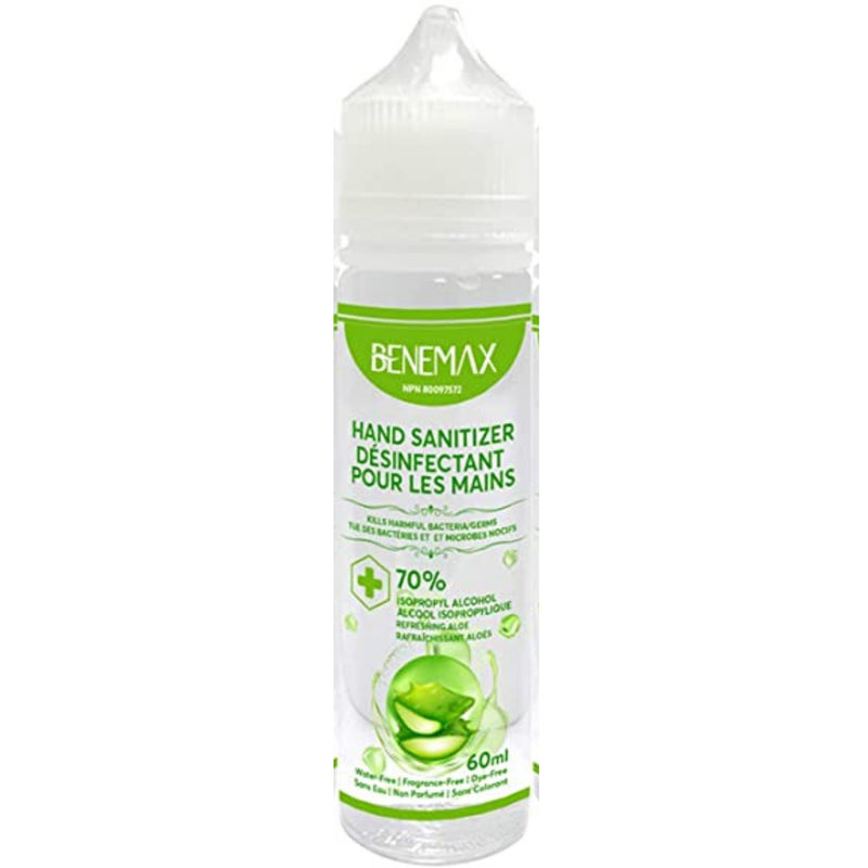 Benemax Hand Sanitizer 70% Alcohol 60ml