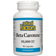 Natural Factors Beta Carotene 30000IU 90caps