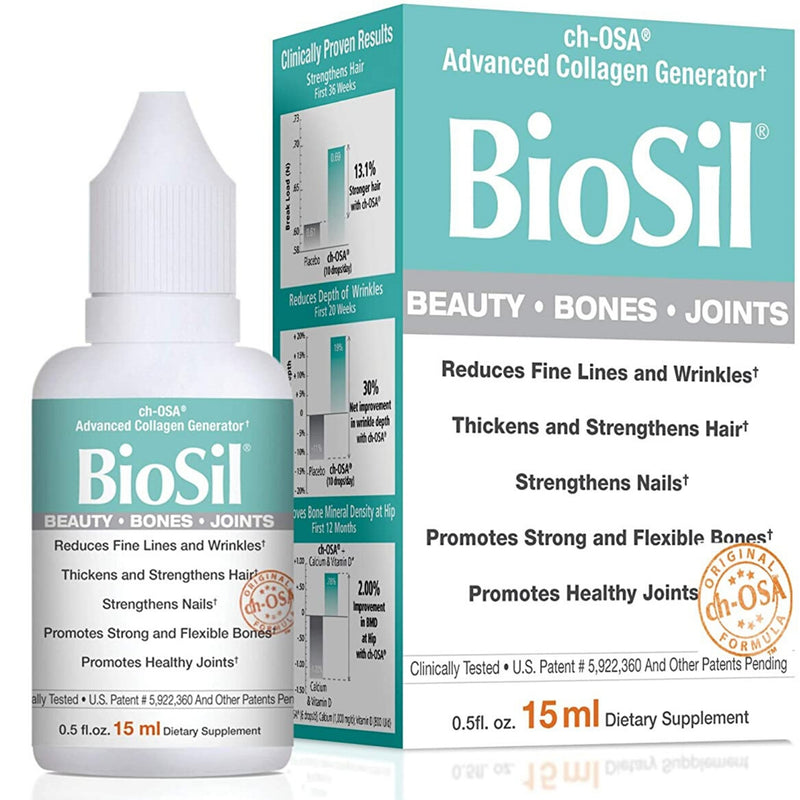Biosil Hair, Skin, Nails 15ml