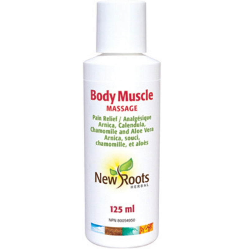 New Roots Body Muscle Massage 125ml