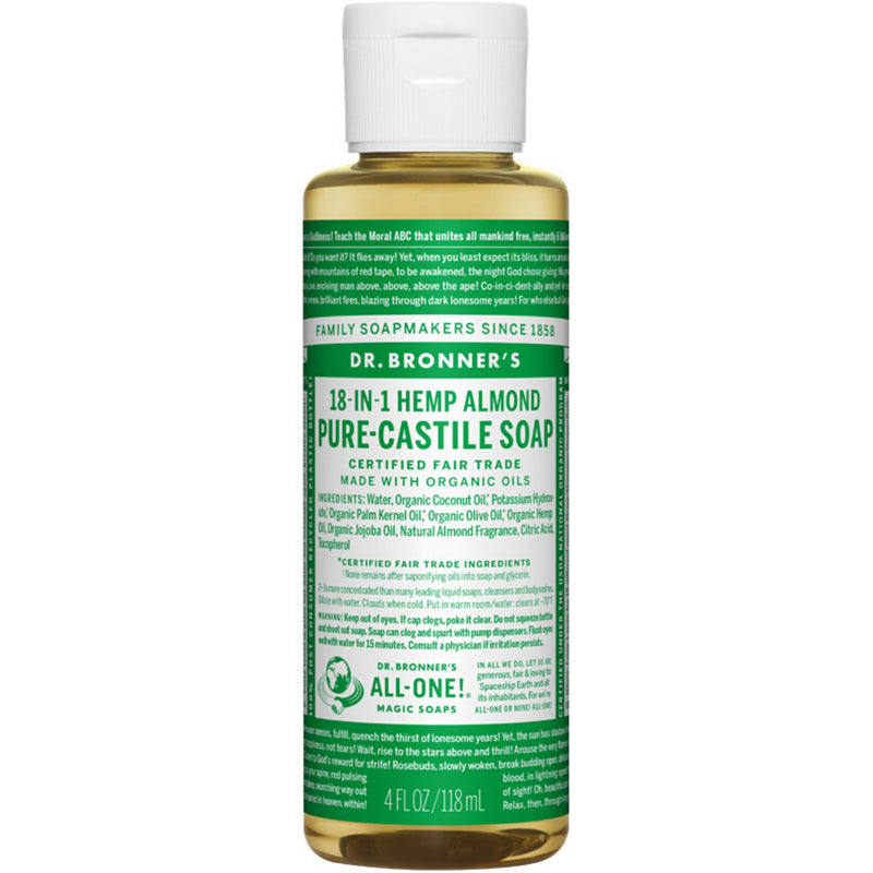 Dr.Bronner's Almond Pure Castile Soap 237ml