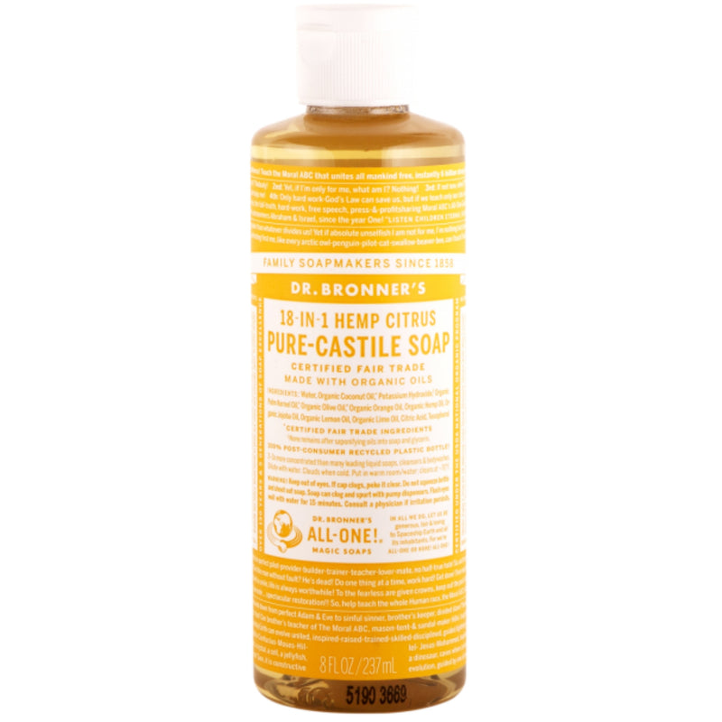 Dr.Bronner's Citrus Pure Castile Soap 237ml