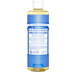 Dr.Bronner's Peppermint Pure Castile Soap 473ml