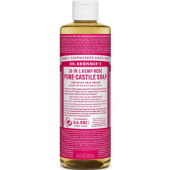 Dr.Bronner's Rose Pure Castile Soap 473ml