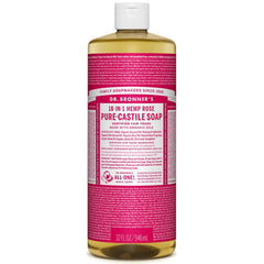 Dr.Bronner's Rose Pure Castile Soap 946ml