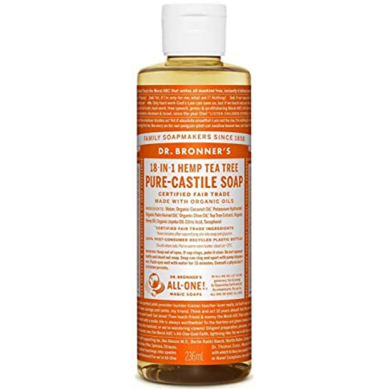 Dr.Bronner's Tea Tree Pure Castile Soap 237ml