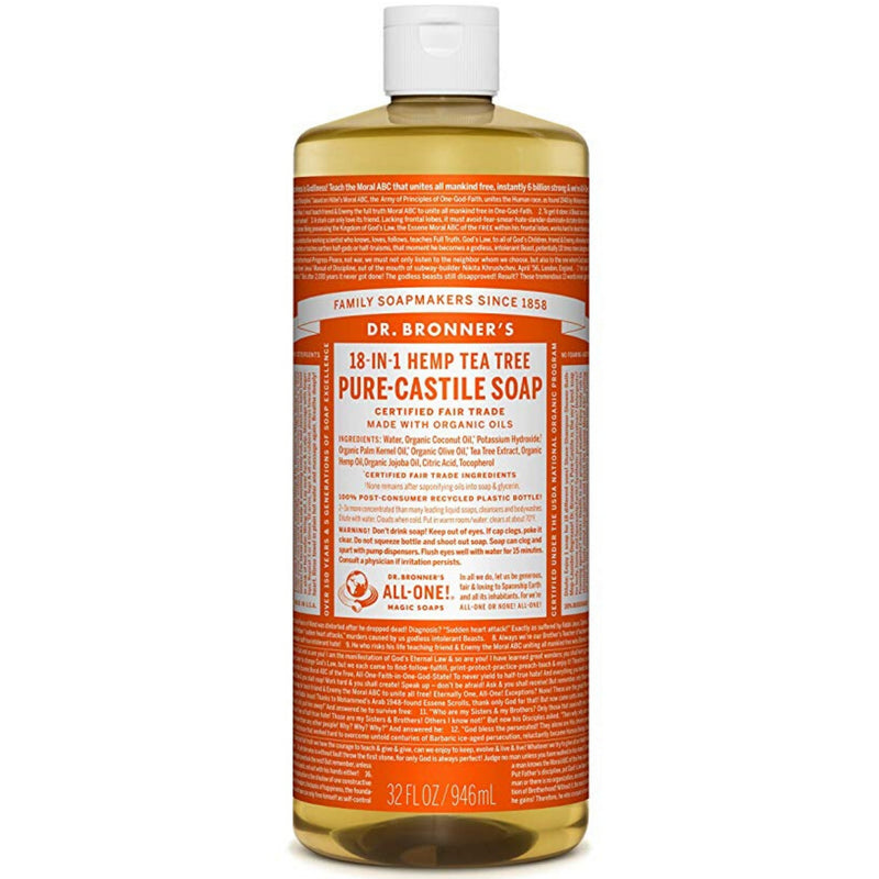 Dr.Bronner's Tea Tree Pure Castile Soap 946ml