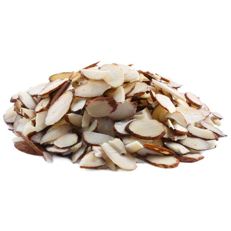 Bulk Sliced Almonds With Peel $/100g