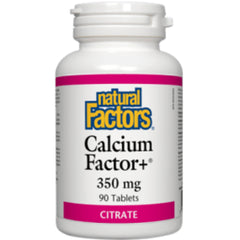 Natural Factors Calcium Factor+ 350mg  90 caps