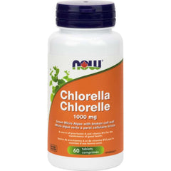 Now Chlorella 1000mg 60tabs