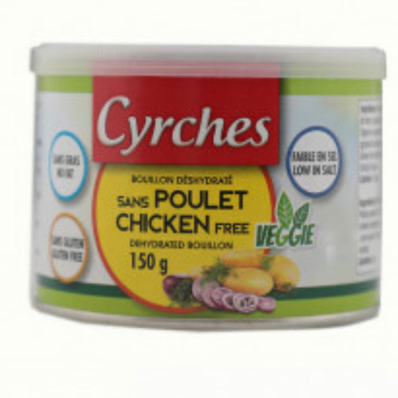 Cyrches Chicken Free Dehydrated Bouillon 150g