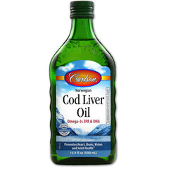 Carlson Norwegian Cod Liver Oil 500ml