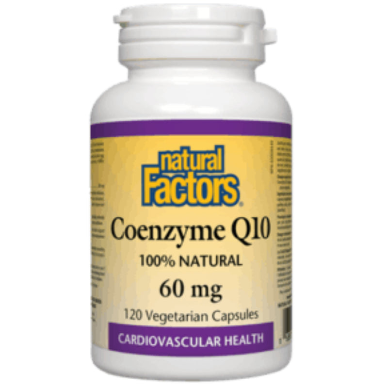 Natural Factors Coenzyme Q10 60mg 120vcaps