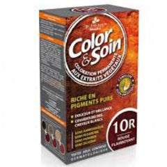 Color & Soin 10R Shining Red Hair Dye